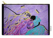 Jesus And Mary Carry-all Pouch by Gloria Ssali