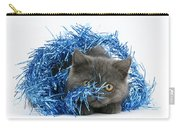 Kitten With Tinsel Carry-all Pouch