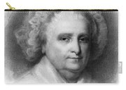 Martha Washington, American Patriot Carry-all Pouch by Photo Researchers