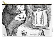Mckinley Cartoon, 1900 Carry-all Pouch