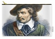 Oliver Cromwell (1599-1658) Carry-all Pouch
