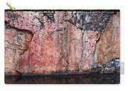 Painted Rocks At Hossa With Stone Age Paintings Carry-all Pouch