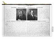 Presidential Campaign 1840 Carry-all Pouch