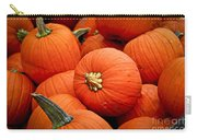 Pumpkins Carry-all Pouch by Elena Elisseeva