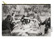 Silent Film Still: Picnic Carry-all Pouch