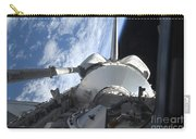 Space Shuttle Discovery Backdropped Carry-all Pouch