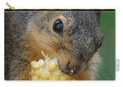 Squirrel Eating Sweet Corn Carry-all Pouch