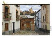 Street In Historic Albaycin In Granada Carry-all Pouch