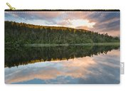Sunrise Above A Lake On A Wind Still Morning Carry-all Pouch