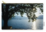 Sunshine Over An Alpine Lake Carry-all Pouch
