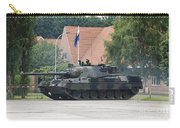 The Leopard 1a5 Of The Belgian Army Carry-all Pouch by Luc De Jaeger