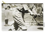 Ty Cobb (1886-1961) Carry-all Pouch