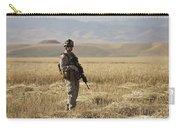 U.s. Marine Patrols A Wadi Near Kunduz Carry-all Pouch