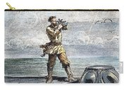 Verne: 20,000 Leagues, 1870 Carry-all Pouch by Granger