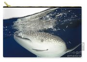 Whale Shark Feeding Under Fishing Carry-all Pouch