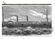 4 Wheel Steamship, 1867 Carry-all Pouch