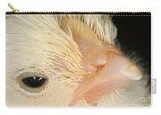 White Leghorn Chick Carry-all Pouch
