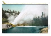 Yellowstone Park: Geyser Carry-all Pouch