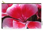 Zonal Geranium Named Candy Fantasy Kiss Carry-all Pouch