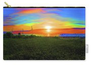 49- Electric Sunrise Carry-all Pouch