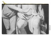 Aesculapius, Greek God Of Medicine Carry-all Pouch