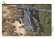 An Ah-64d Apache Helicopter In Flight Carry-all Pouch