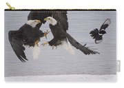 Bald Eagle Haliaeetus Leucocephalus Carry-all Pouch