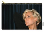Blond Woman Carry-all Pouch by Henrik Lehnerer