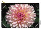 Dahlia Named Valley Porcupine Carry-all Pouch