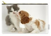 Dog And Cat Carry-all Pouch by Jane Burton