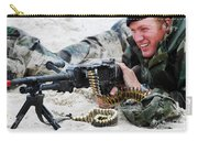Dutch Royal Marines Taking Part Carry-all Pouch by Luc De Jaeger