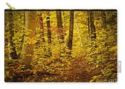 Fall Forest Carry-all Pouch by Elena Elisseeva
