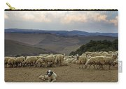 Flock Of Sheep Carry-all Pouch by Joana Kruse