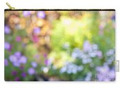 Flower Garden In Sunshine Carry-all Pouch