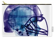 Football Helmet, X-ray Carry-all Pouch