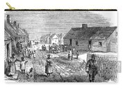 Freedmens Village, 1866 Carry-all Pouch by Granger