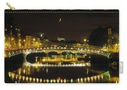 Hapenny Bridge, River Liffey, Dublin Carry-all Pouch