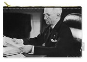 Harry S. Truman (1884-1972) Carry-all Pouch
