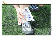 Injured Ankle Carry-all Pouch by Photo Researchers
