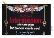 Intermission Slide Carry-all Pouch