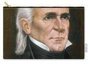 James K. Polk (1795-1849) Carry-all Pouch by Granger