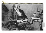 Louis Agassiz, Swiss-american Polymath Carry-all Pouch