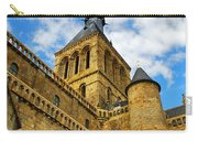 Mont Saint Michel Carry-all Pouch by Elena Elisseeva