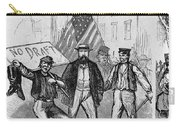 New York: Draft Riots, 1863 Carry-all Pouch