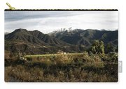 Ojai Valley With Snow Carry-all Pouch