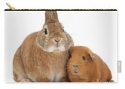 Rabbit And Guinea Pig Carry-all Pouch