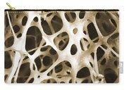 Sem Of Human Shin Bone Carry-all Pouch
