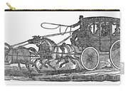 Stagecoach, 19th Century Carry-all Pouch