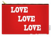 5 Steps Of Love Carry-all Pouch