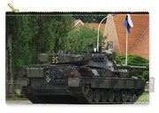 The Leopard 1a5 Mbt Of The Belgian Army Carry-all Pouch